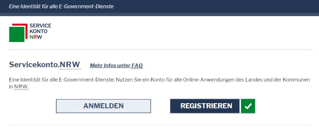 Servicekonto.NRW Online-Ausweisfunktion